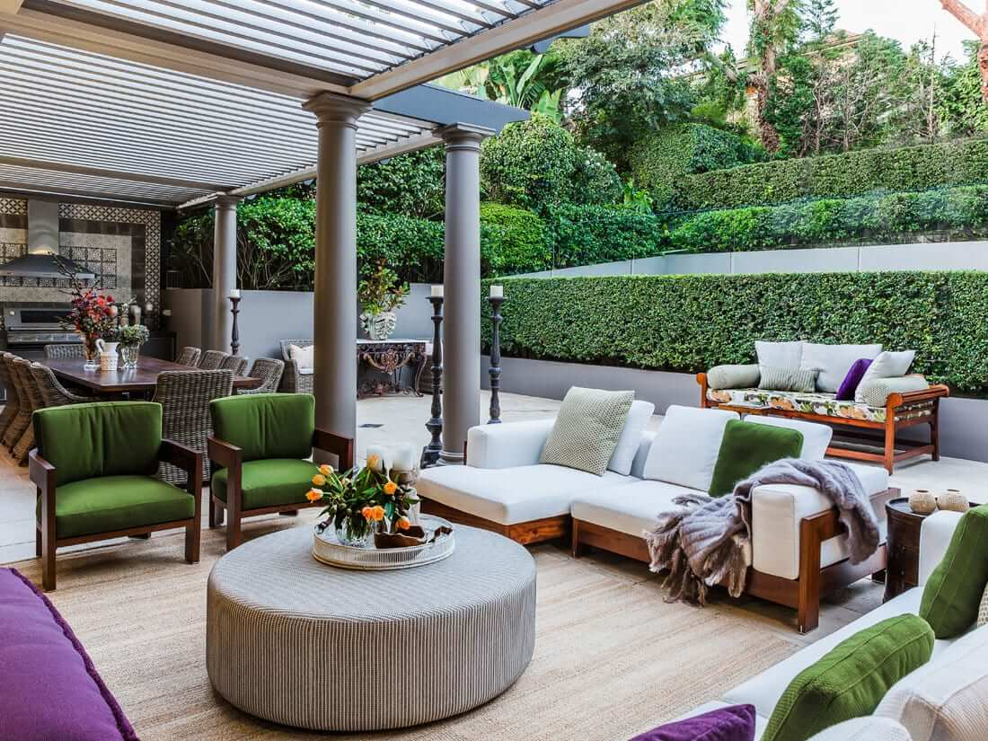 Outdoor Living Designs : Outdoor Living - Marylou Sobel Interior Design