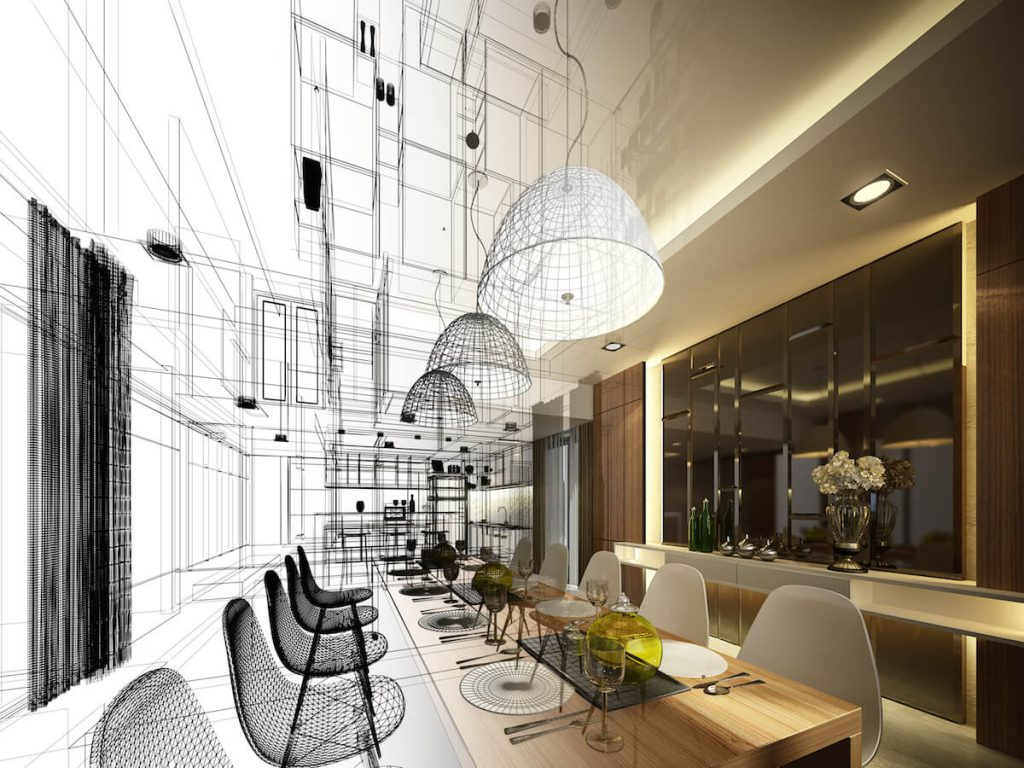 Interior designer and architect collaborative approach