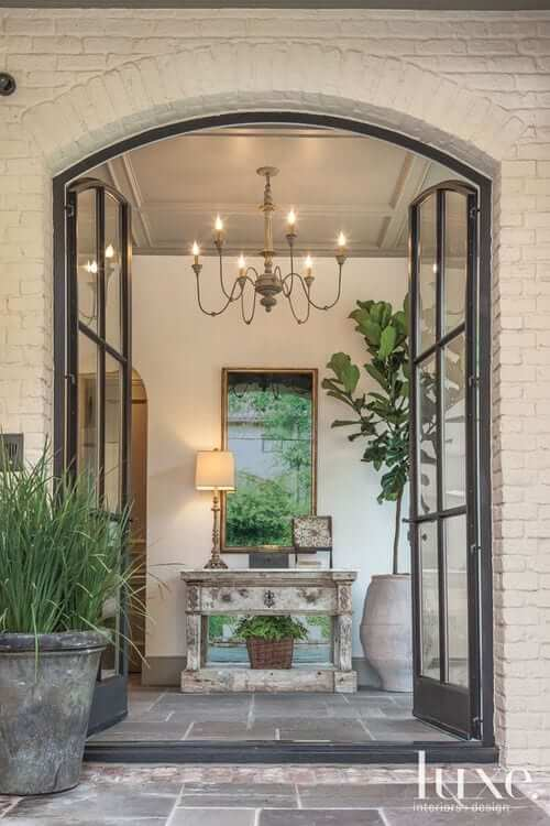 create an impactful entrance