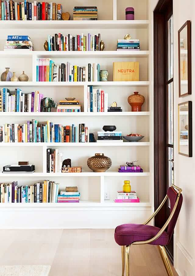Friday Favourites- Home Libraries - Marylou Sobel Interior Design