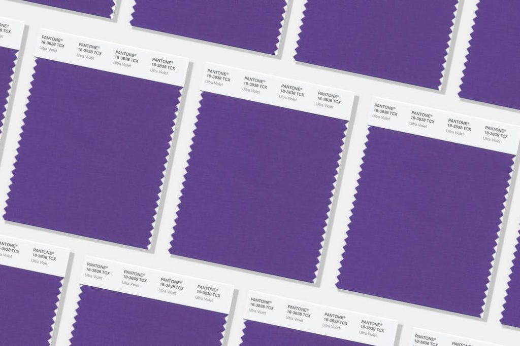 Pantone 2018 colour of the year ultraviolet