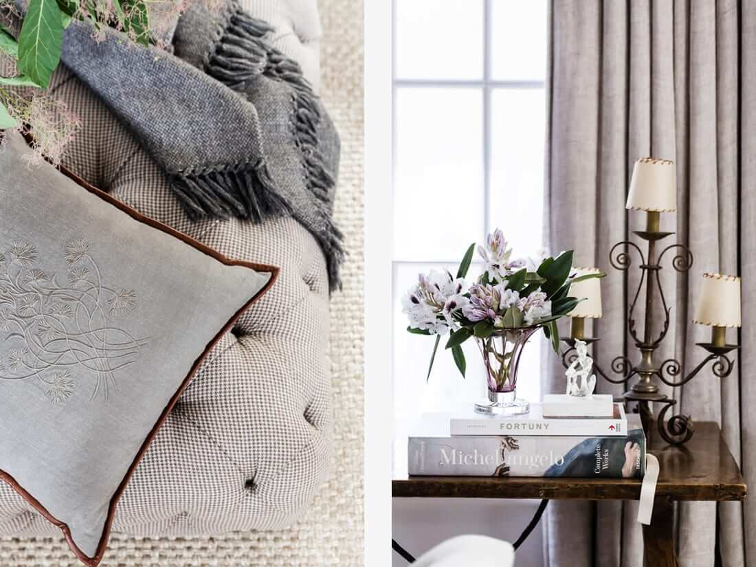 HOW TO ADD INTEREST AND DEPTH WHEN DECORATING WITH A SOFTER NEUTRAL PALETTE