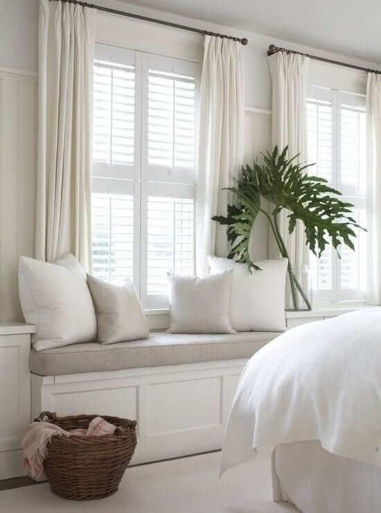 coastal interior design shutters in a sophisticated coastal home