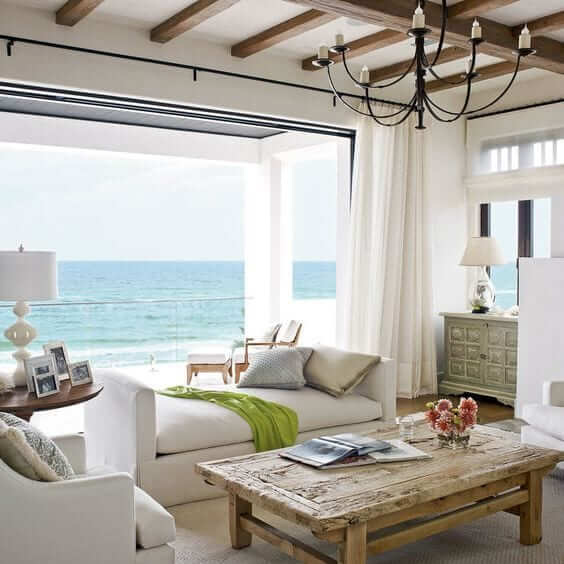 Sophisticated seaside furniture