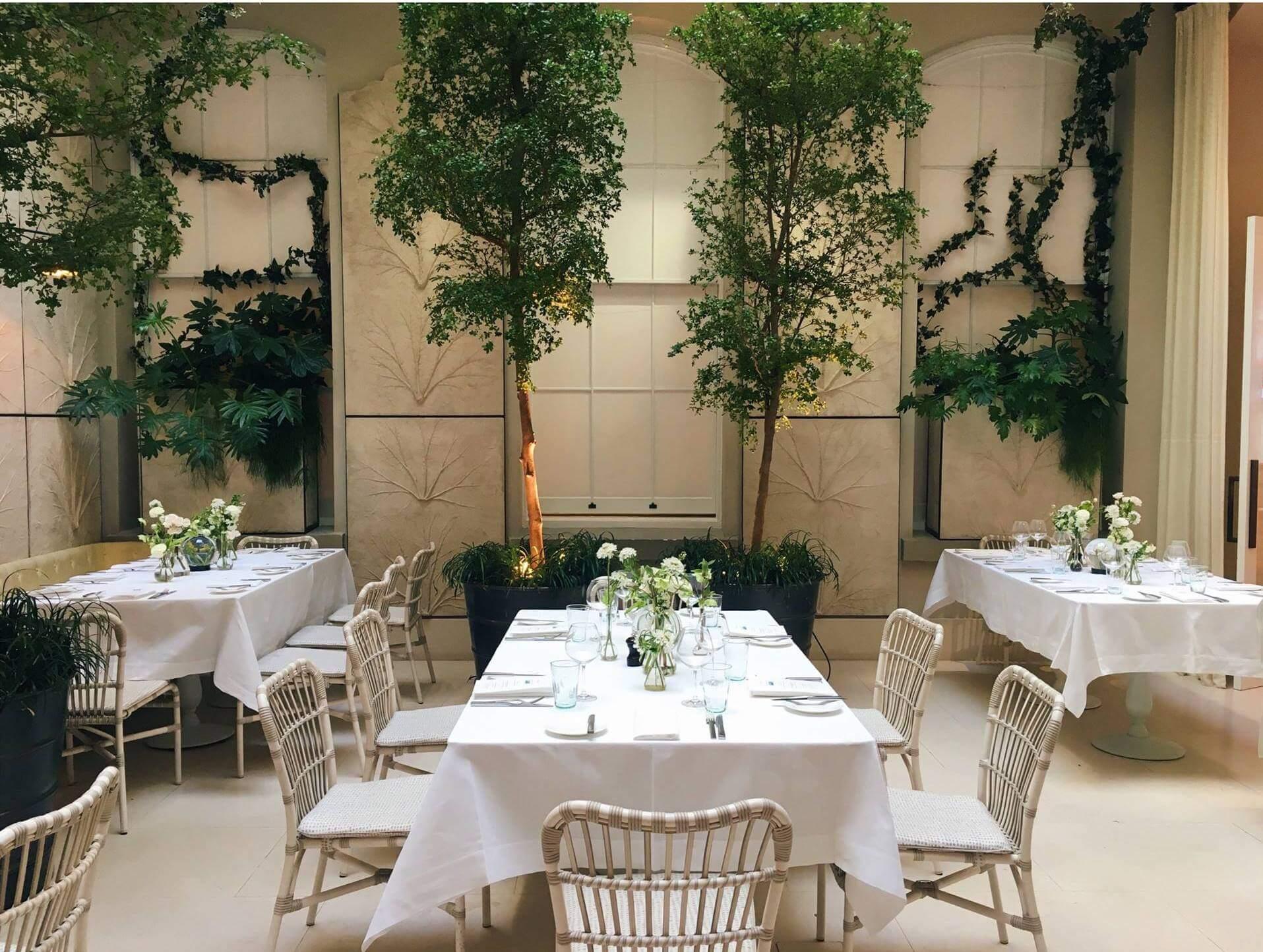 Spring Restaurant London - The world's best restaurant interior designs