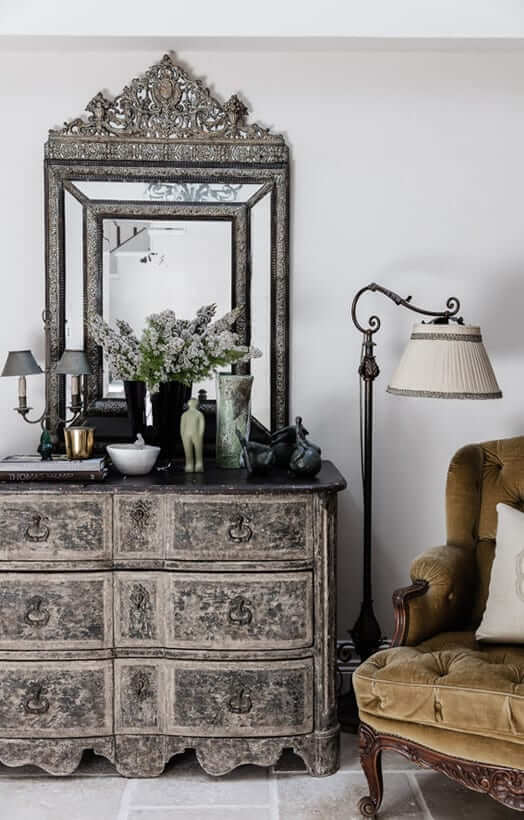 How to make a grand house a home - Marylou Sobel Interior designer