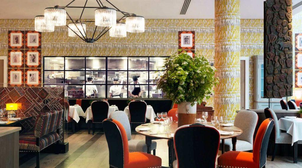 The World's best restaurant interior designs : Ham Yard Hotel, London