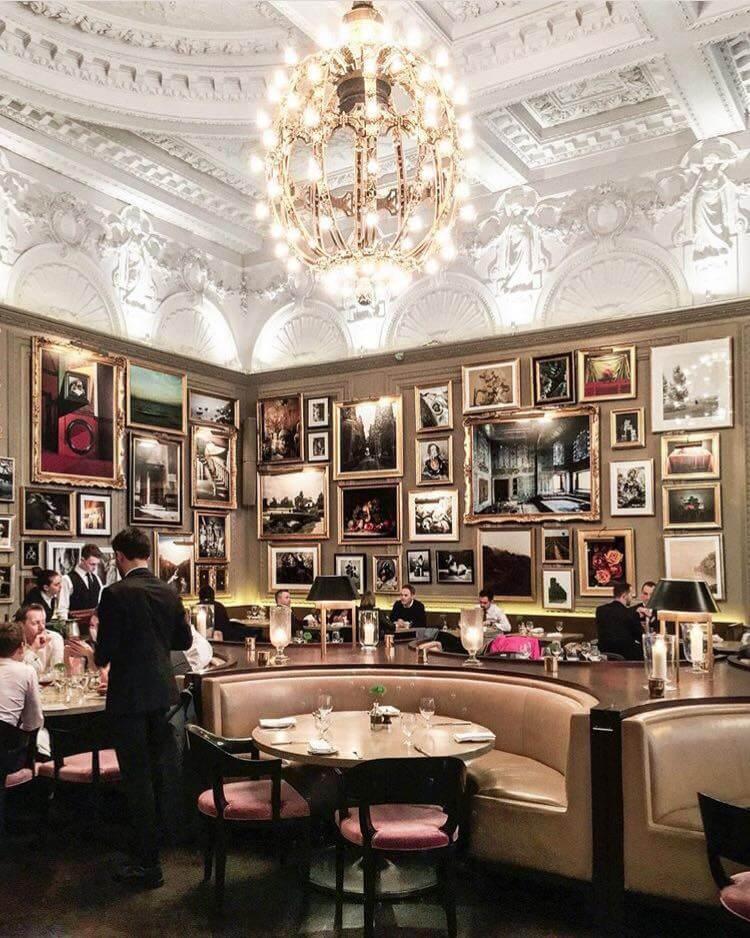 The World's best restaurant interior designs Berners Tavern, London