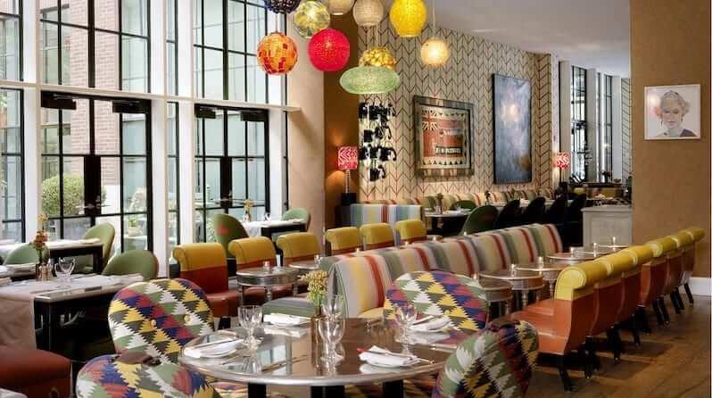 The World's best restaurant interior designs The Crosby Bar New York