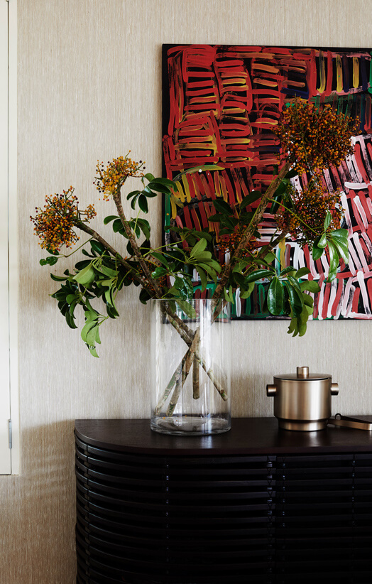 the art of styling furniture and shelving