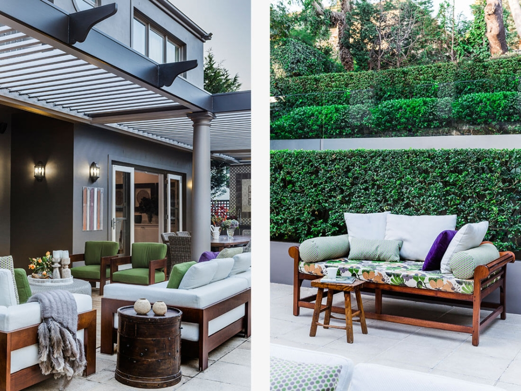 how to design and decorate indoor outdoor areas