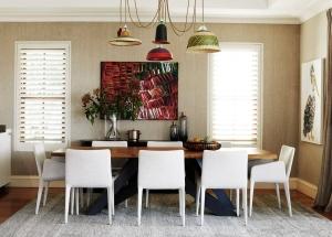 dining interior design pendant